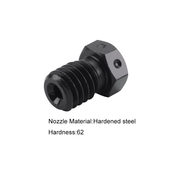 Hardened Steel V6 Nozzles For High Temperature 3D Printing