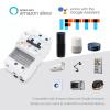 DIN Rail Mounted Smart Miniature Circuit Breaker w/ WIFI, 240V 2 Pole 32A