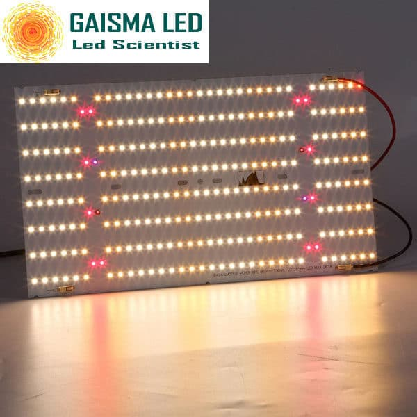 Gaisma Board Full Spectrum LED grow Light board with Samsung LM301B and CreeXPE red 660nm far red 730nm and LG UV