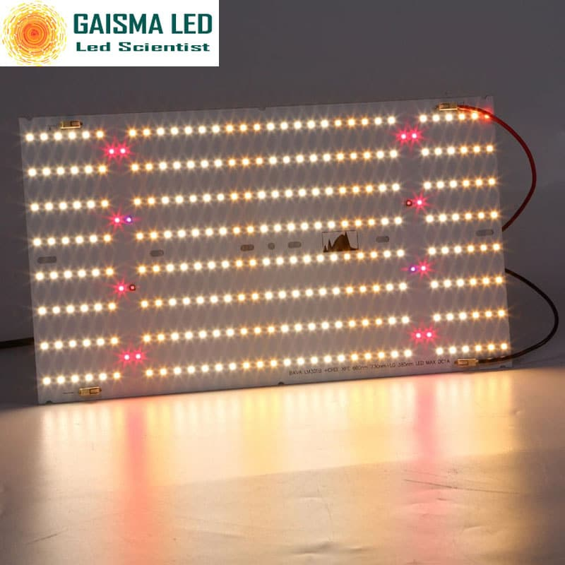 Full Spectrum LED grow Light PCB board LM301B - CreeXPE -red 660nm- far red 730nm -LG UV