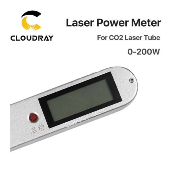 Cloudray Handheld CO2 Laser Tube Power Meter 0-200W HLP-200 For Laser Engraving and Cutting Machine