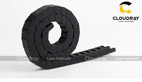 Cloudray Cable Drag Chains Semi-Enclosed Interior Opening 15x20 R28/38