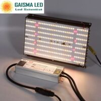 Gaisma Board120W Full Spectrum Grow Light with Samsung LM 301b & CREEXPE red 660nm far red & LG uv