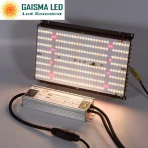 Gaisma Board 120W Full Spectrum Grow Light with Samsung LM 301b & CREEXPE red 660nm far red & LG uv