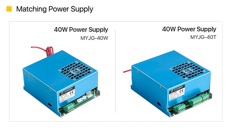 40-50W CO2 High Voltage Flyback Transformer for MYJG-40/50 PSU Laser Power Supply