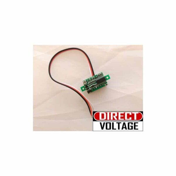 DC-100V Digital Voltmeter 3-Cable 0.36 inch 3-Digit LED Red Light