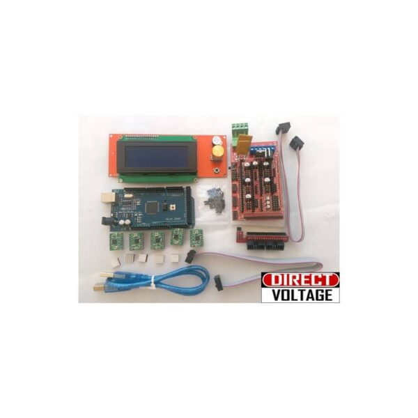 3D printer kit RAMPS 1.4 + Mega 2560 + 5pcs A4988 + LCD 2004 RepRap Prusa i3