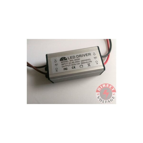 10W 220V Watt High Power LED Driver 50-60HZ Waterproof