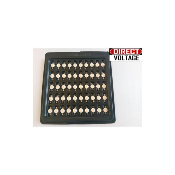 10 PCS 3w full spectrum led chip , 380nm~840nm with bridgelux for plant grow Indoor DIY plant grow light