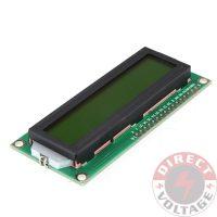 Yellow Backlight 1602 16x2 Character LCD Display Module HD44780 LCM