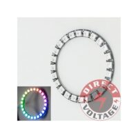 LED Ring 24 x WS2812 5050 RGB LED with Integrated Drivers