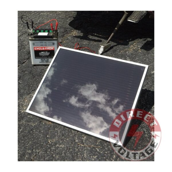 Amorphous Solar Panel — 7 Watts