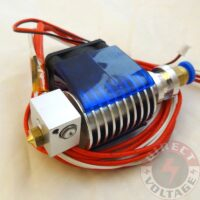 ALL metal V5 Direct feed J-head Hot end for 1.75mm. Extruder. with Fan, Heater & Thermistor .02/.03/0.4/.05mm nozzle.