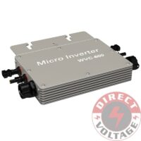 600W grid tie micro inverter with communication function, 22-50V DC to AC 80-160V MPPT inverter for 24V/36V system