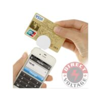 Mobile Phone 3.5mm Earphone Jack Mini Magnetic Card Reader.For iOS 8.0 & Android