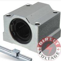 SC10UU 10mm Linear Ball Bearing Linear Motion Bearing Slide For CNC