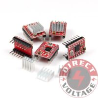 5PCS 3D Printer A4988 Stepper Motor Driver Reprap Driver Module