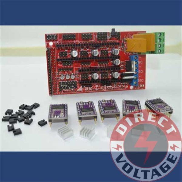 RAMPS 1.4 Control Board +5 x DRV8825 StepStick Driver Module