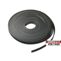 3D Printer GT2 Timing Belt by meters, 2mm Pitch, 6mm Width
