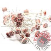 50PCS Photoresistor LDR CDS 5mm Light-Dependent Resistor Sensor GL5516 Arduino