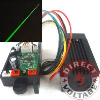 200mW 532nm green laser module. Focusable