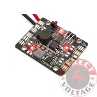 Matek LED & POWER HUB 5in1 V3 Power Supply Board + BEC 5V 12v + Low Voltage Alarm+ Tracker
