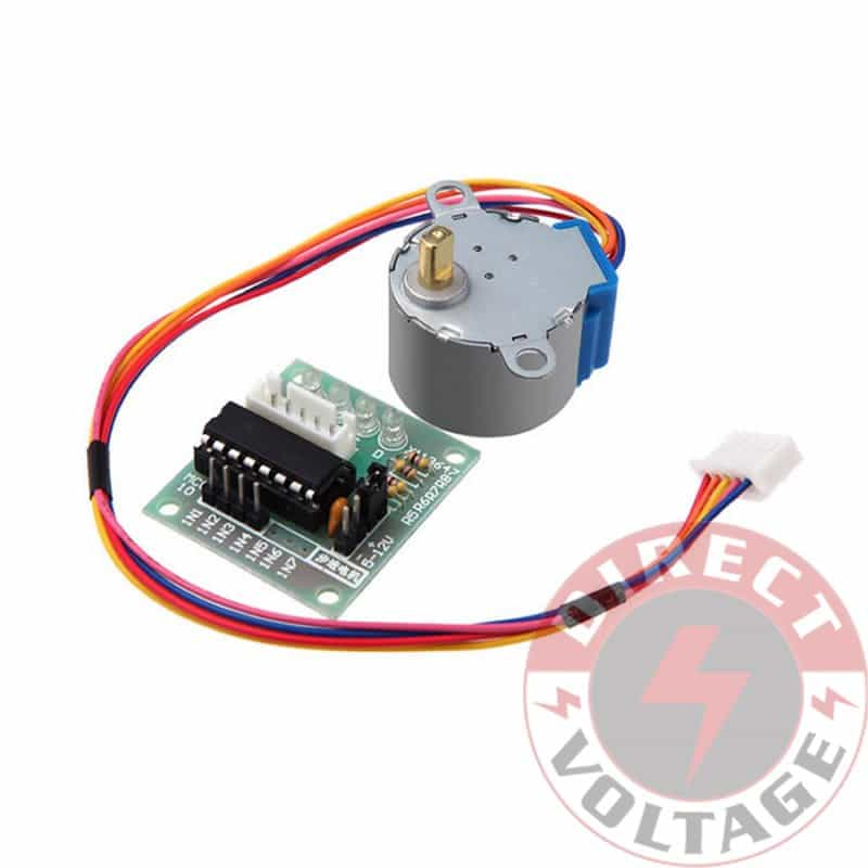 Dc 5v stepper motor 28byj 48 uln2003 driver test module for Arduino and stepper motor