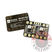 Matek Micro Power Distribution Board PDB w/ BEC 5V/12V