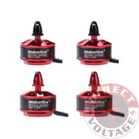 Makerfire 4pcs MK2406 2000KV Brushless Motor for DIY QAV250 Racing Quadcopter