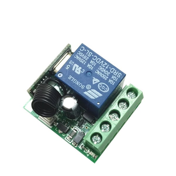 315 Mhz Receiver Wireless RF Remote Control Switch DC12V 10A 1CH ...