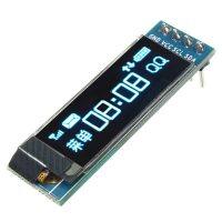 "0.91 inch 128x32 I2C IIC Serial Blue OLED LCD Display Module 0.91"" 12832 SSD1306 LCD Screen for Arduino"