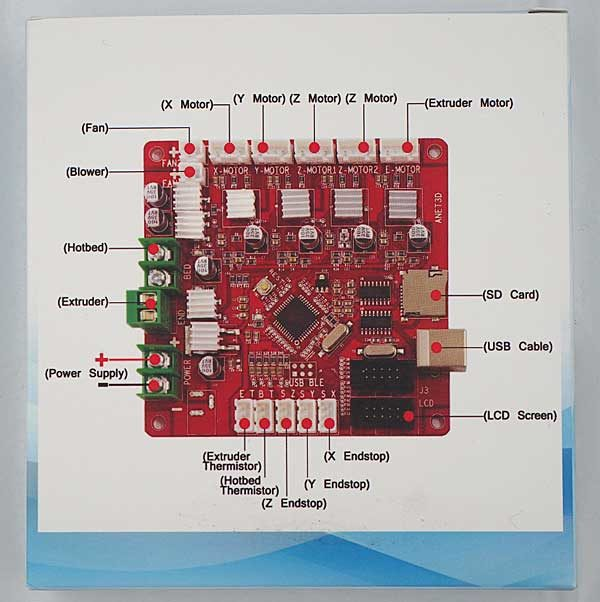 3D Printer Mainboard for Anet A8 and A6 3D Printer Control Reprap Mendel Prusa 3D Printer Control Motherboard