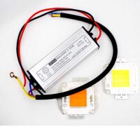 30W WHITE or FULL SPECTRUM LED with AC90-265V to DC26-36V LED Driver AC/DC Adapter Transformer Waterproof