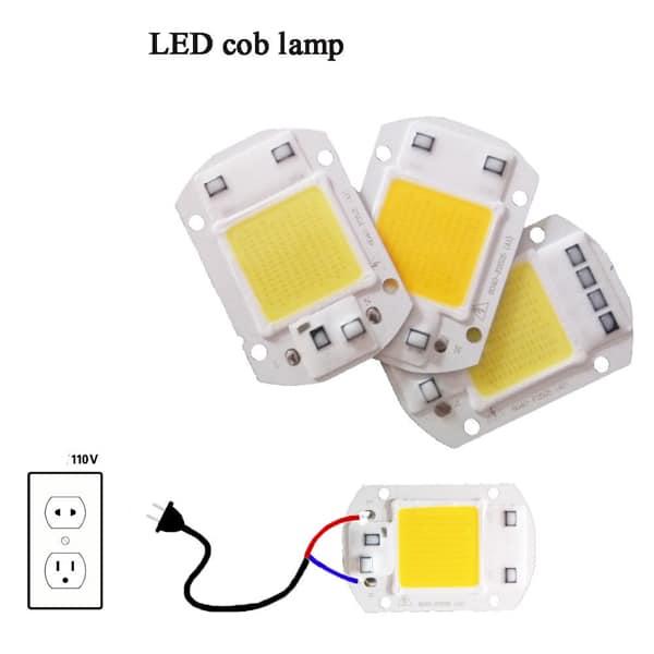 Driverless High Power LED 20W 30W 50W 110V DIY COB LED Diode Chip