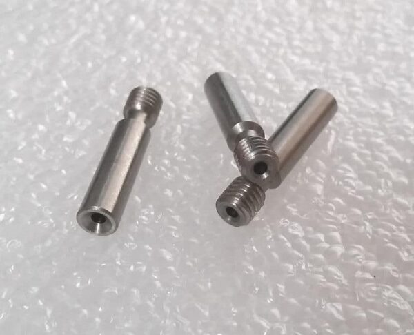 3D Printer Throat Without PTFE Stainless Feed Tube Nozzle Throat For 1.75mm MK8