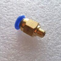 PC4-M6 Pneumatic Straight Fitting 4mm OD tubing M6 Reprap 3D Printer Bowden Tube