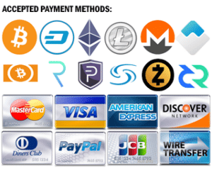 Directvoltage.com accepts crypto payments