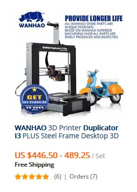 WANHAO 3D Printer Duplicator 3D Printer