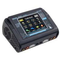 HTRC T240 DUO Color Touch Screen Dual Multi-Charger AC 150W/DC 240W 10A RC Balance Charger