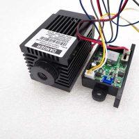 Focusable 2.5W 2500mW 450nm Blue Laser Module TTL+Analog signal