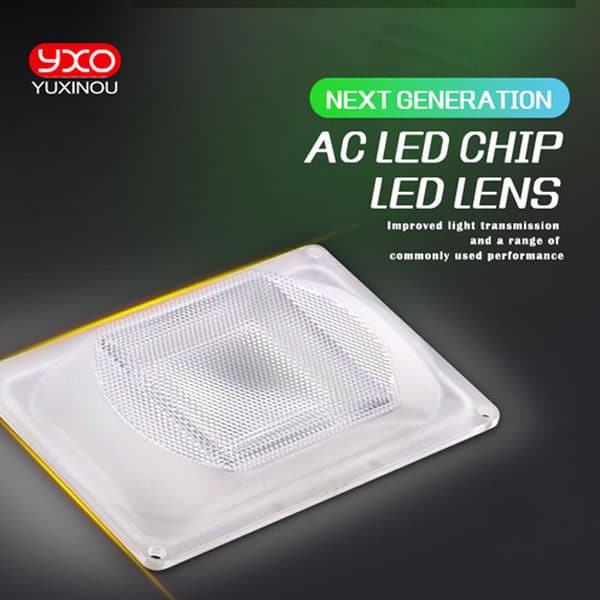 LED Lens For LED COB DOB Lamps Include: 90° PC lens+Reflector+Silicone Ring. For DIY LED Grow Light/Flood Light