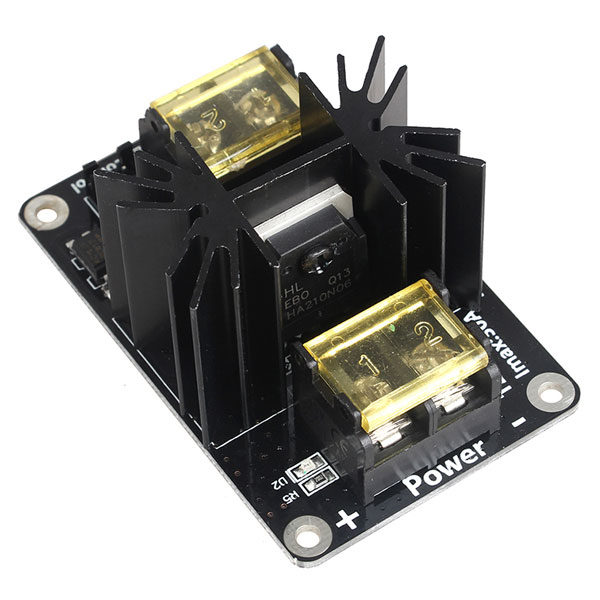 LERDGE 3D Printer Parts General Add-on Heated Bed Power Expansion Module High Power Module expansion board with Cable