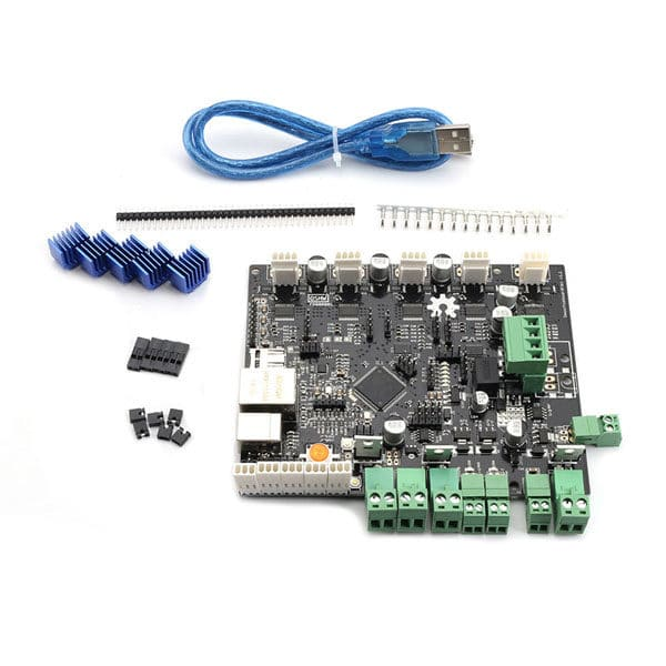 CLONED 3D Printer Smoothieboard 5XC/5X V1.1 ARM Open Source Motherboard 32 Bit LPC1769 Cortex-M3 Control Board Support Ethernet
