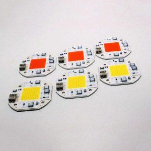 20W 30W 50W Integrated Smart IC Driverless Solderless DIY 100-260V LED COB Chip
