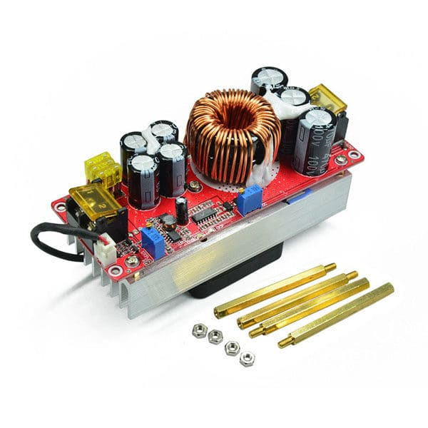 1500W 30A DC-DC Boost Converter DIY Step-up Boost Constant Stream Power Supply Module Board In 10-60V Out 12-90V Electric Unit Module