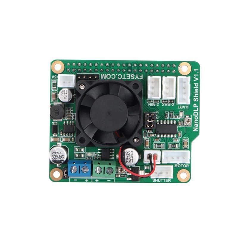 NanoDLP Shield V1.1 Expansion Board +Boost LED Driver Board + 2pcs CR-10 Endstops Limit Switch For SLA UV Cured 3D Printer Parts