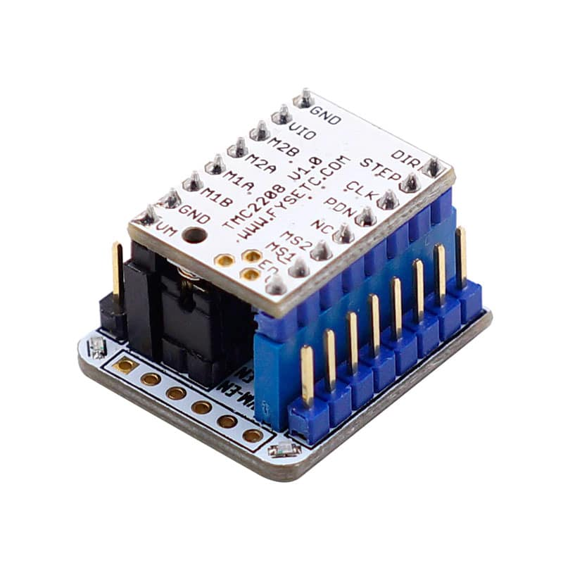 TMC2208 v1.2 Stepping Motor Mute Driver Stepstick Power Tube Built-in Driver Replace 256 Segment TMC2100