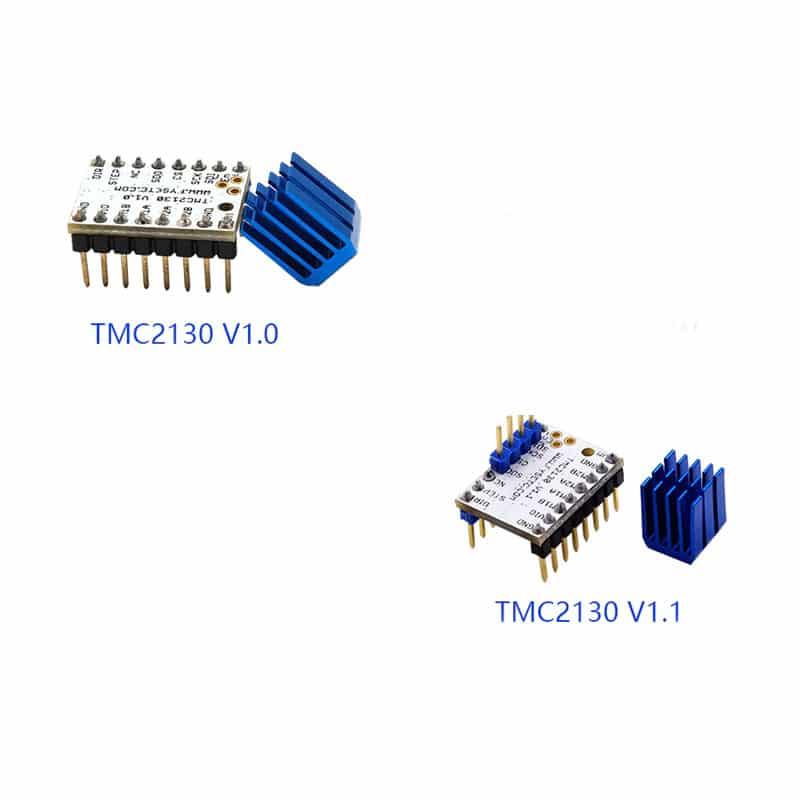 TMC2130 V1.0/V1.1 Stepstick Stepper Motor Driver SPI With Heat Sink Ultra-silent Excellent