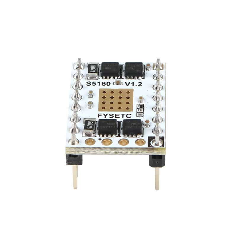 TMC5160 V1.2 SPI Stepper Motor Driver S5160 Stepstick Mute Driver Flying Wire For SKR F6 Board VS TMC2130 V1.2