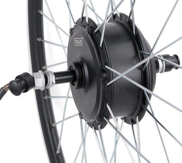 MXUS XF08 24V 36V 48V 250W Brushless Gear Hub Motor E-bike Motor For Electric Bicycle Rear Wheel 6S-9S Freewheel Ratio 1:4.4
